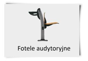Fotele audytoryjne