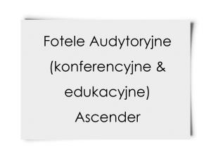Fotele Audytoryjne Ascender
