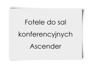 Fotele do sal konferencyjnych Ascender